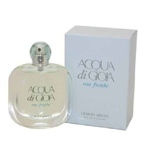 Acqua Di Gioia Eau Fraiche Perfume by Giorgio Armani 3.4oz Eau De Toilette spray for Women