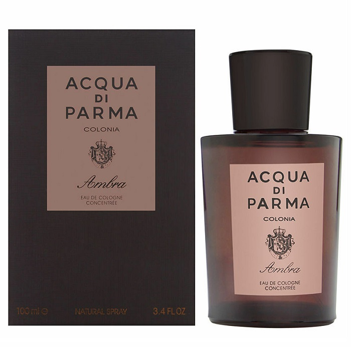 Acqua Di Parma Colonia Ambra Cologne by Acqua Di Parma 3.4oz Eau De Cologne Spray for men