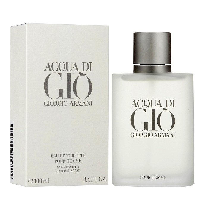 Acqua di Gio Cologne by Giorgio Armani 3.4oz Eau De Toilette spray for men