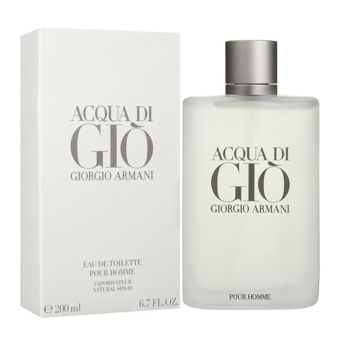 Acqua di Gio Cologne by Giorgio Armani 6.7oz Eau De Toilette spray for men