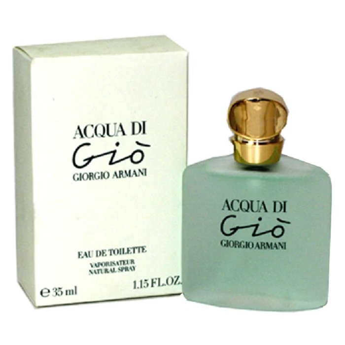Acqua di Gio Perfume by Giorgio Armani 1.15oz Eau De Toilette Spray for women