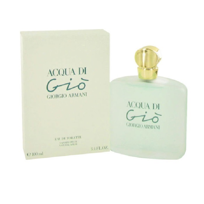 Acqua di Gio Perfume by Giorgio Armani 3.3oz Eau De Toilette spray for Women