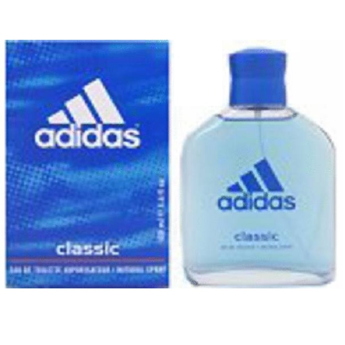 Adidas Classic Cologne by Adidas 3.4oz Eau De Toilette Spray for men