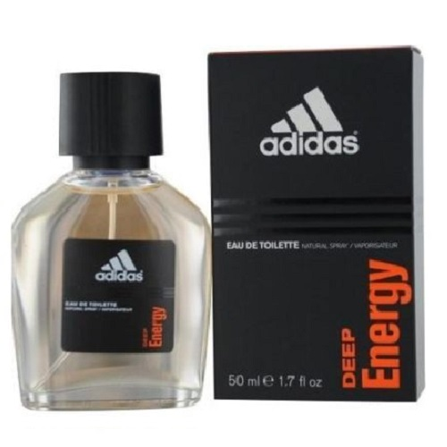 Adidas Deep Energy Cologne by Adidas 1.7oz Eau De Toilette spray for men