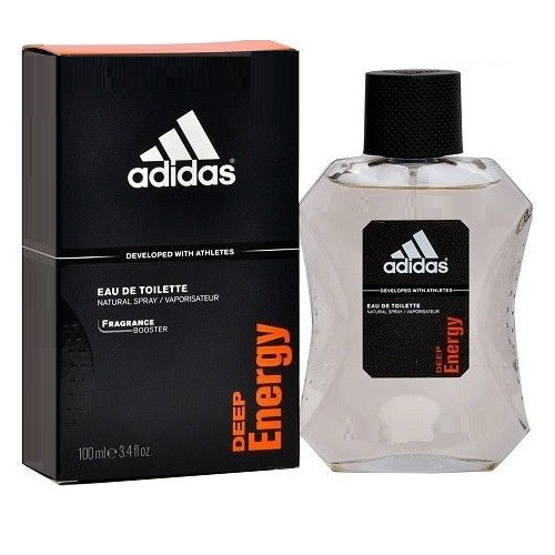 Adidas Deep Energy Cologne by Adidas 3.4oz Eau De Toilette spray for men
