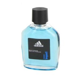 Adidas Fresh Impact Tester Cologne by Adidas 3.4oz Eau De Toilette Spray for men