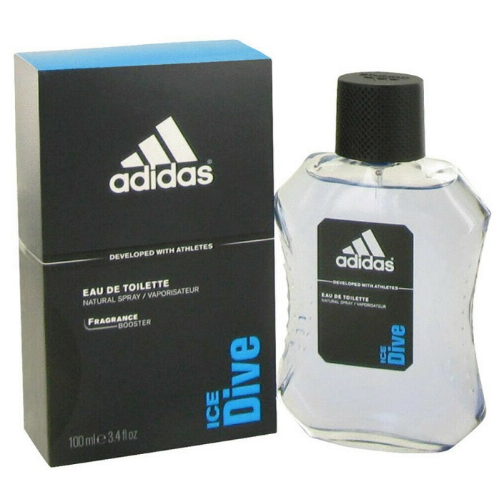 Adidas Ice Dive Cologne by Adidas 3.4oz Eau De Toilette Spray for men