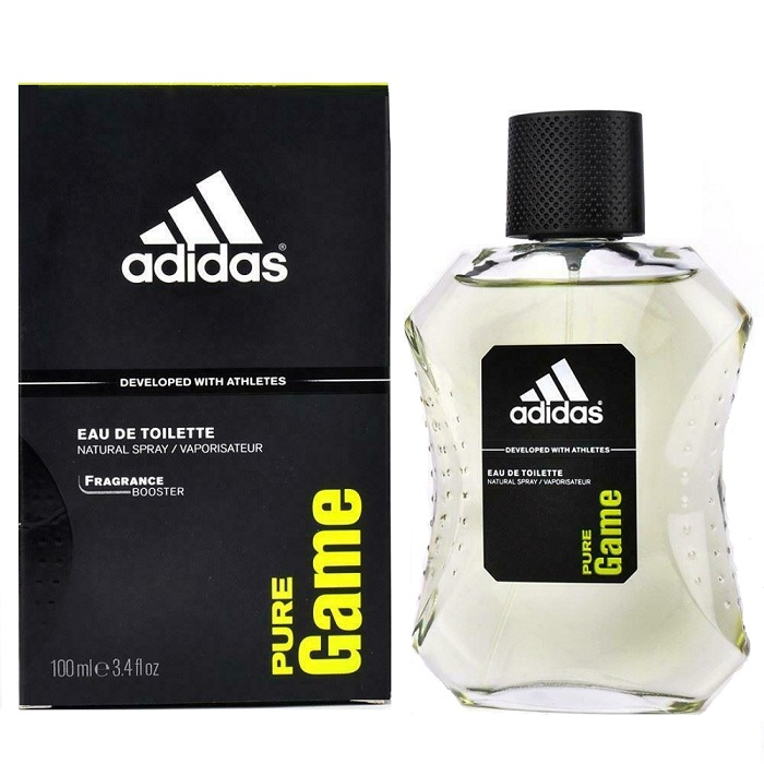 Adidas Pure Game Cologne by Adidas 3.4oz Eau De Toilette Spray for men