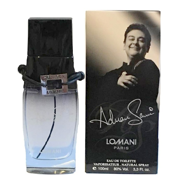 Adnan Sami Cologne by Lomani 3.3oz Eau De Toilette Spray for men