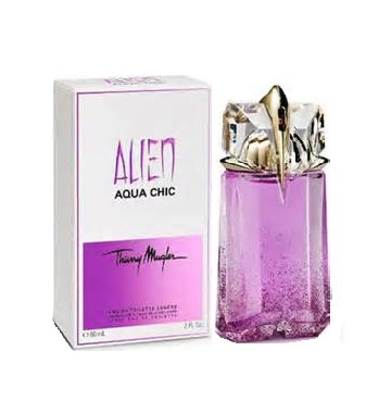Alien Aqua Chic Perfume by Thierry Mugler 2.0oz Eau De Toilette legere for Women