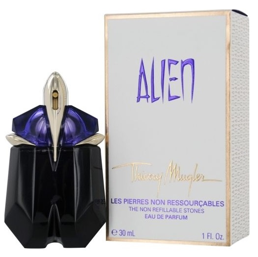 Alien refillable Perfume by Thierry Mugler 1.0oz Eau De Parfum spray for women