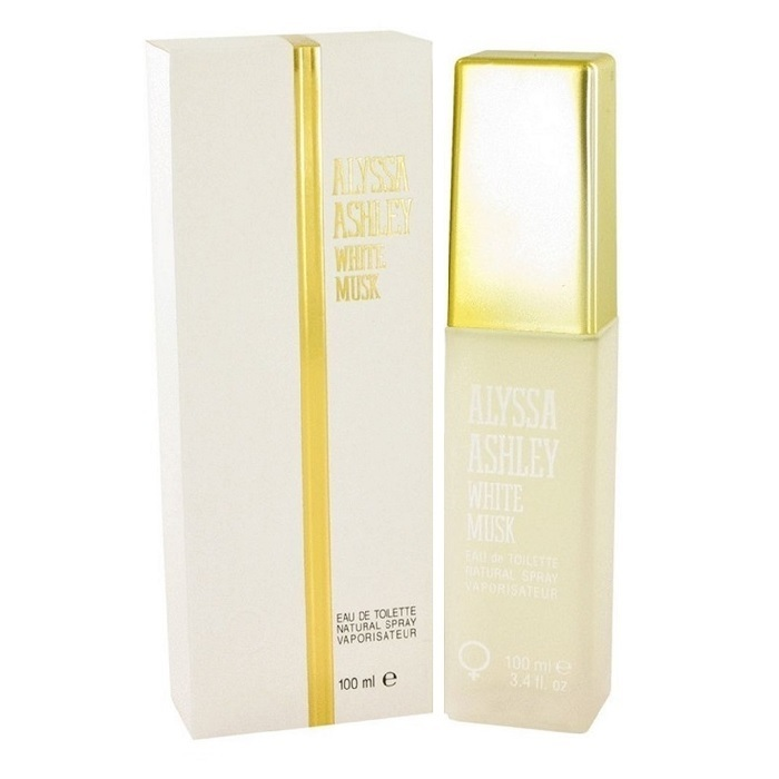 Alyssa Ashley White Musk Perfume by Alyssa Ashley 3.4oz Eau De Toilette spray for Women
