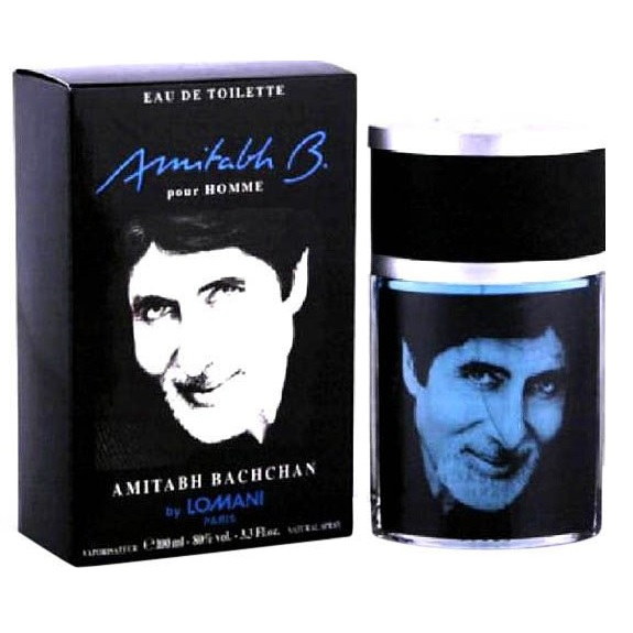 Amitabh Bachchan Cologne by Lomani 3.4oz Eau de Toilette spray for men