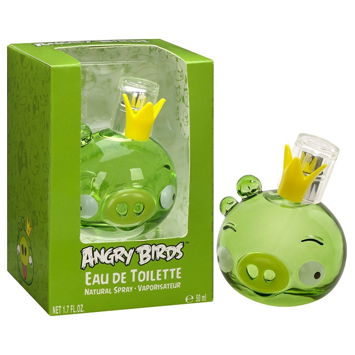 Angry Birds King Pig Perfume by Air Val International 1.7oz Eau De Toilette Spray for kids