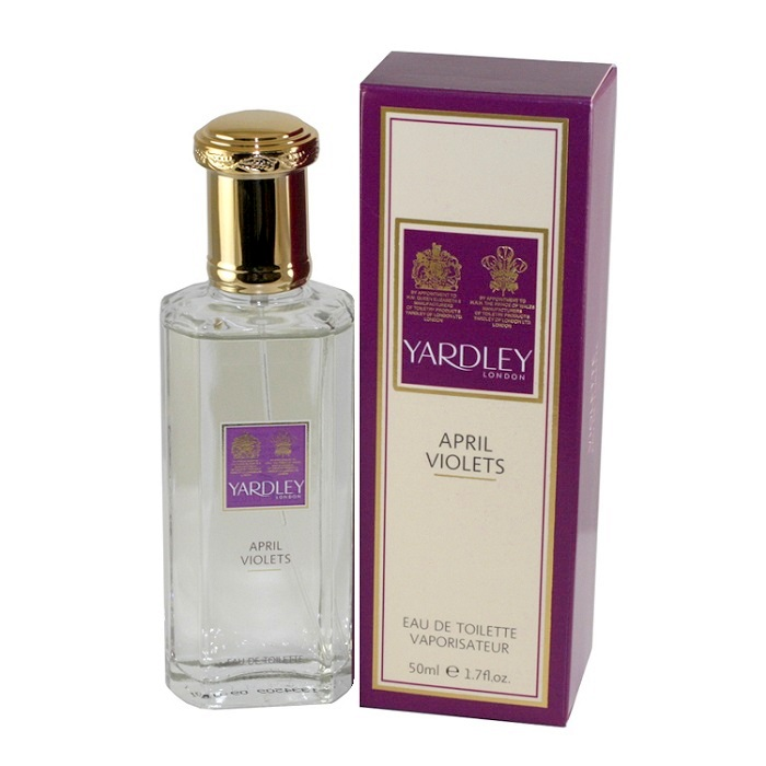 April Violets Perfume by Yardley London 1.7oz Eau De Toilette spray for Women