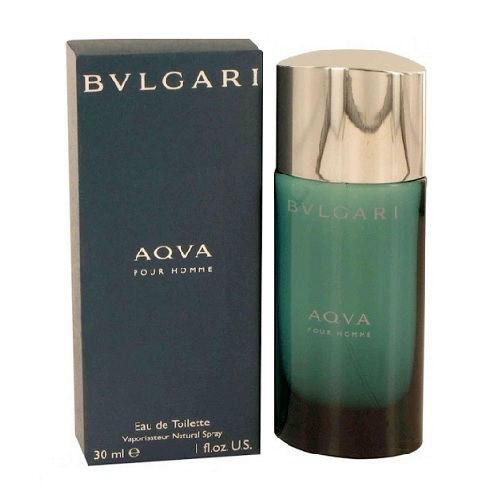 Bvlgari Aqua Pour Homme Cologne by Bvlgari 1.0oz Eau De Toilette spray for men