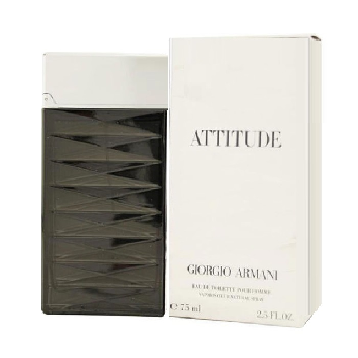 Armani Attitude Cologne by Giorgio Armani 2.5oz Eau De Toilette spray for men