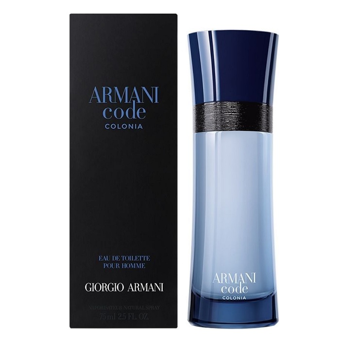 Armani Code Colonia Cologne by Giorgio Armani 2.5oz Eau De toilette spray for men