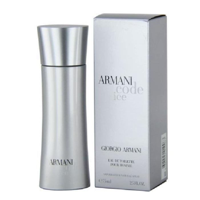 Armani Code Ice Cologne by Giorgio Armani 2.5oz Eau De toilette spray for men