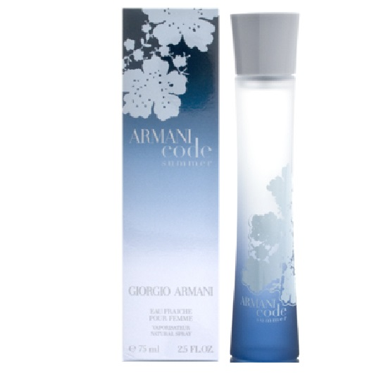 Armani Code Summer Perfume by Giorgio Armani 2.5oz Eau Fraiche Spray for women