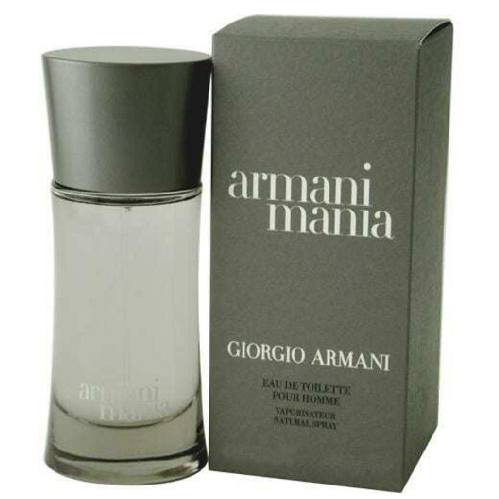 Armani Mania Cologne by Giorgio Armani 1.7oz Eau De Toilette Spray for men