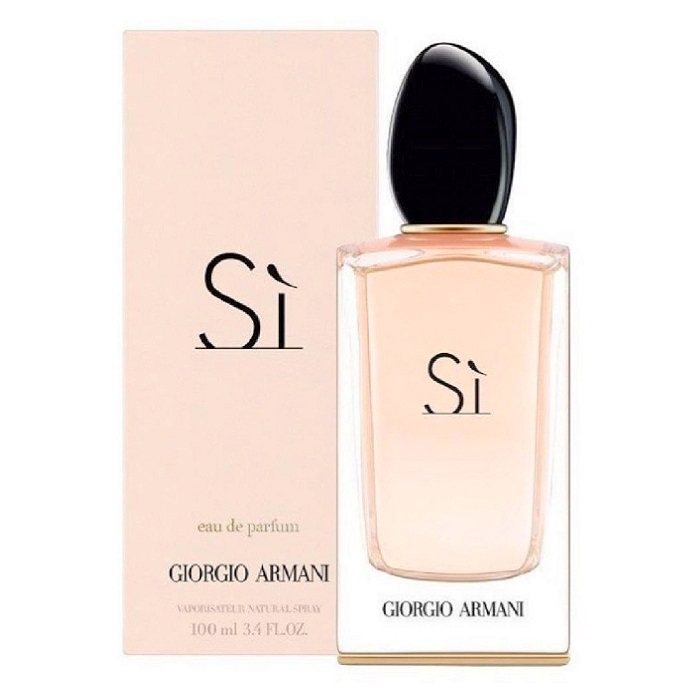 Armani Si Perfume by Giorgio Armani 3.4oz Eau De Parfum spray for women