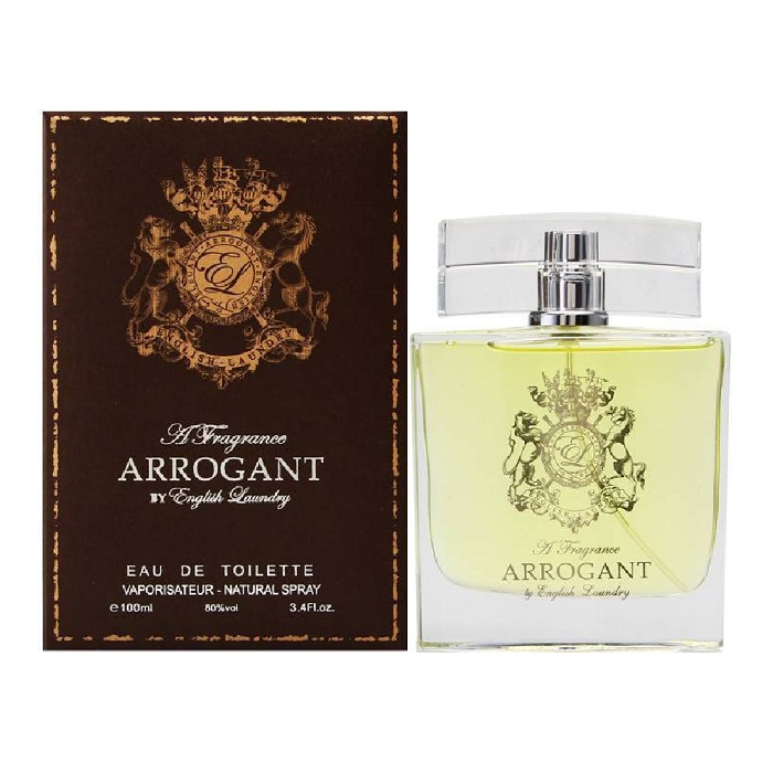 Arrogant Cologne by English Laundry 3.4oz Eau De toilette spray for Men