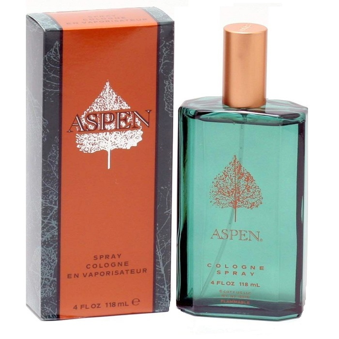 Aspen Cologne by Coty 4.0oz Eau De Toilette spray for men