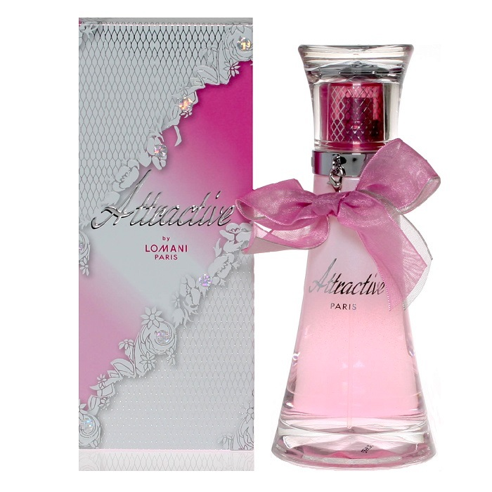 Attractive Perfume by Lomani 3.3oz Eau De Parfum spray for Women