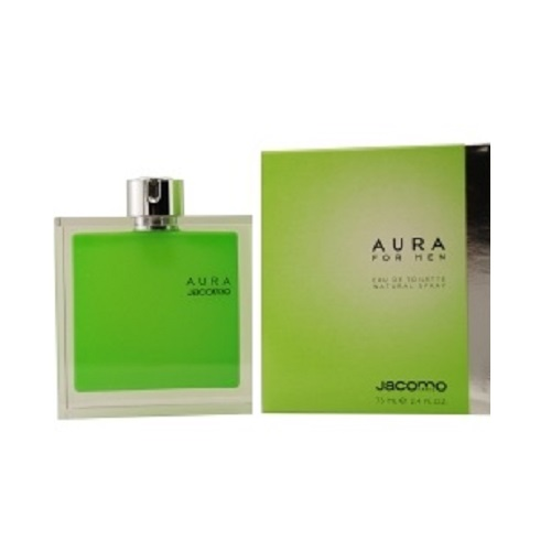 Aura Cologne by Jacomo 2.5oz Eau De Toilette spray for Men