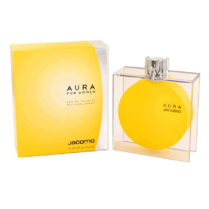 Aura Perfume by Jacomo 2.5oz Eau De Toilette spray for women