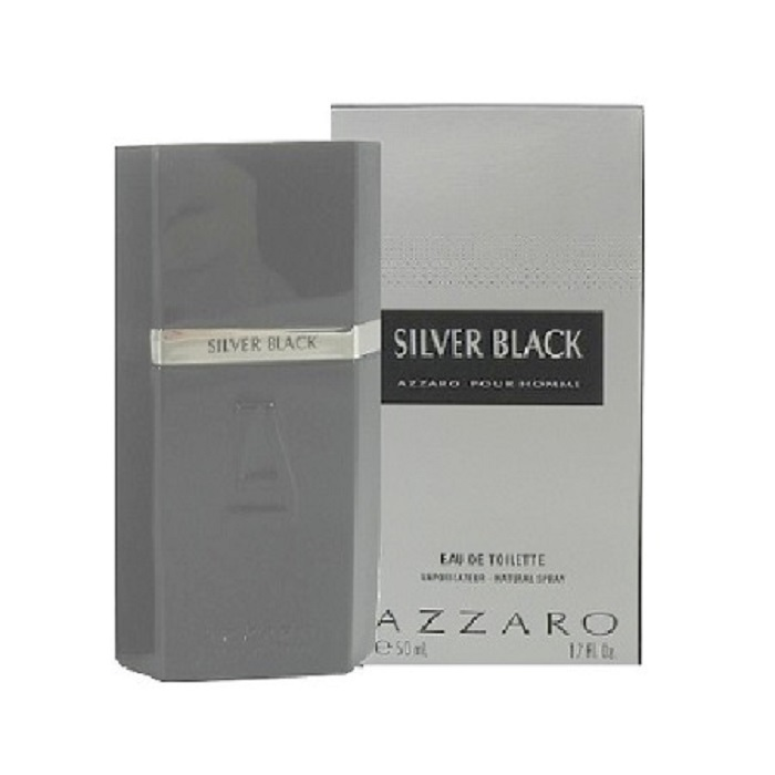 Azzaro Silver Black Cologne by Loris Azzaro 1.7oz Eau De Toilette spray for men