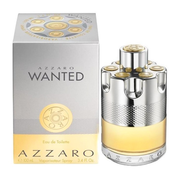 Azzaro Wanted Cologne by Azzaro 3.4oz Eau De toilette spray for men