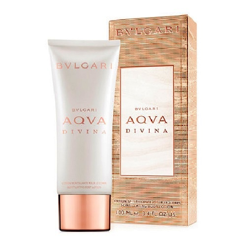Bvlgari Aqva Divina Pearly Body Lotion by Bvlgari 3.4oz for Women