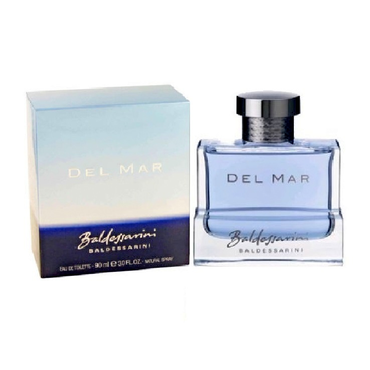 Baldessarini Del Mar Cologne by Hugo Boss 3.0oz Eau De Toilette spray for Men