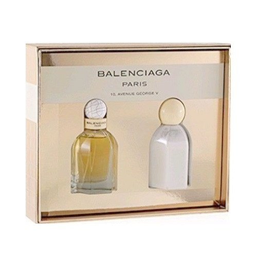 Balenciaga Paris Perfume Gift Set - 1.7oz Eau De Parfum spray, & 3.4oz Body Lotion