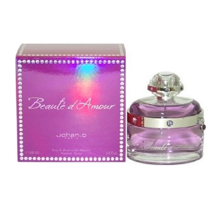 Beaute d'Amour Perfume by Johan B. 3.4oz Eau De Parfum spray for Women