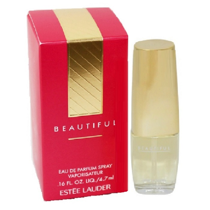 Beautiful Mini Perfume by Estee Lauder 0.16oz / 4.7ml Eau De Parfum spray for women