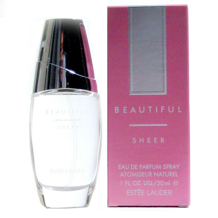 Beautiful Sheer Perfume by Estee Lauder 1.0oz Eau De Parfum Spray for women