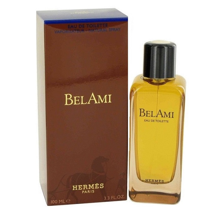 Bel Ami Cologne by Hermes 3.3oz Eau De Toilette spray for Men