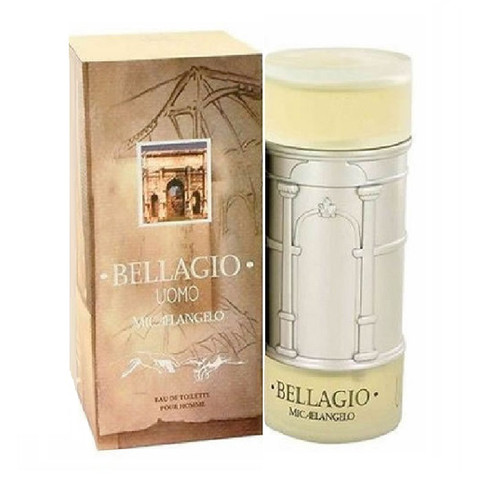 Bellagio Uomo Cologne by Bellagio 3.4oz Eau De Toilette spray for men