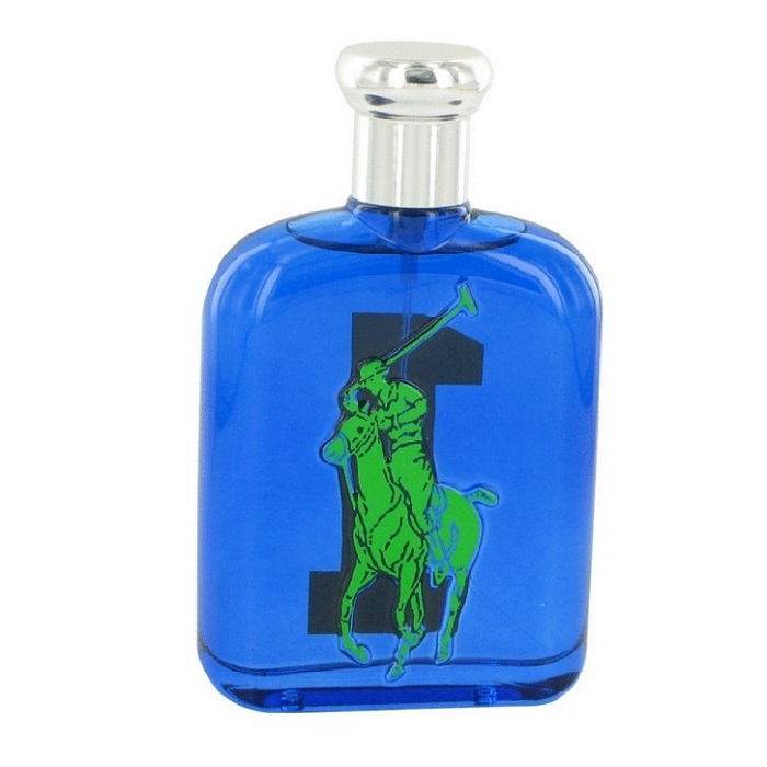 Big Pony 1 Blue Tester Cologne by Ralph Lauren 4.2oz Eau De Toilette spray for Men