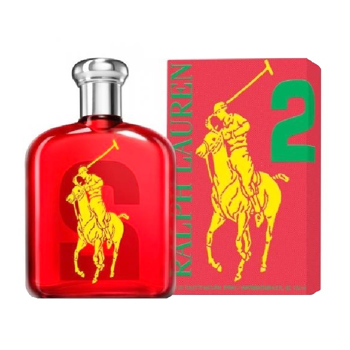 Big Pony 2 Red Cologne by Ralph Lauren 4.2oz Eau De Toilette spray for Men