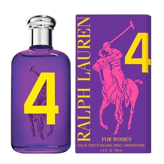 Big Pony 4 Purple Perfume by Ralph Lauren 3.4oz Eau De Toilette spray for Women