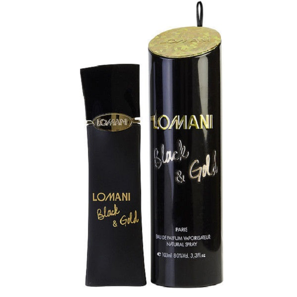 Black & Gold Perfume by Lomani 3.3oz Eau De Parfum spray for women