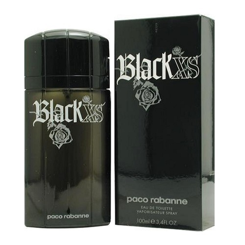 Black Xs Cologne by Paco Rabanne 1.7oz Eau De Toilette spray for Men