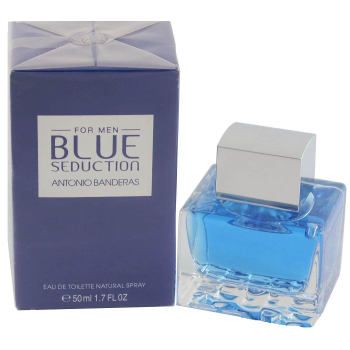 Blue Seduction Cologne by Antonio Banderas 1.7oz Eau De Toilette Spray for men