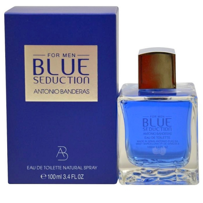 Blue Seduction Cologne by Antonio Banderas 3.4oz Eau De Toilette Spray for men