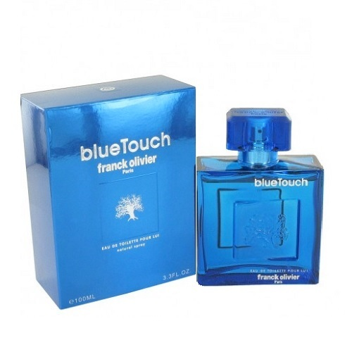 Blue Touch Cologne by Franck Olivier 3.4oz Eau De Toilette Spray for men