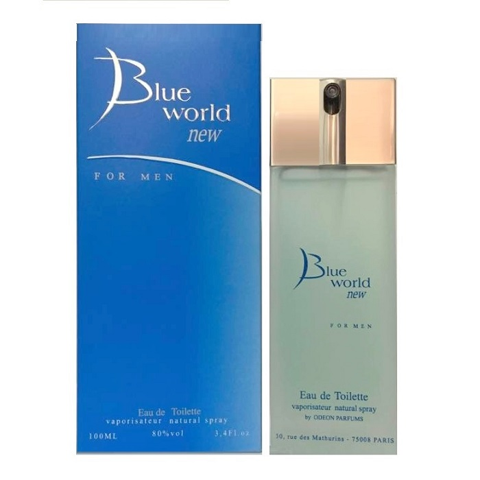 Blue World Cologne by Deon Parfums 3.4oz Eau De Toilette Spray for men